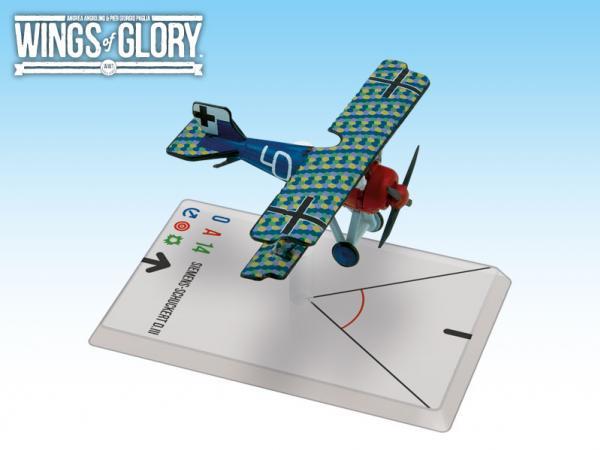 Wings Of Glory WWI Miniatures: Siemens - Schuckert D.III (Von Beaulieu - Marconnay)