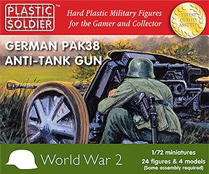 20mm WWII:  German Pak 38 Anti Tank Gun