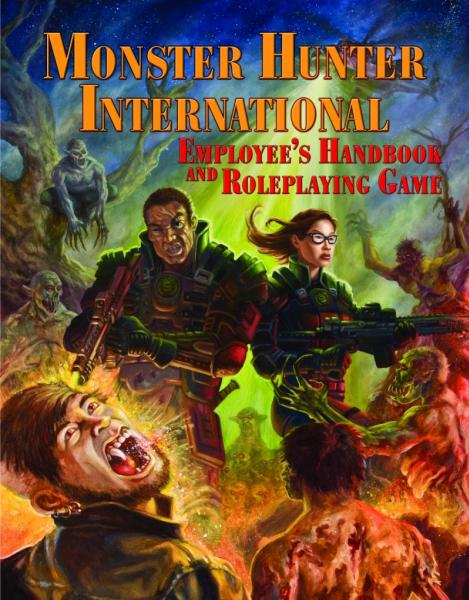 HERO System 6th Edition: Monster Hunter International