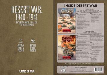 Flames Of War (WWII): Desert War, 1940-1941 [Bundle]