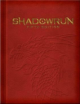 Shadowrun RPG 5th Edition (Limited Edition): Core Rulebook
