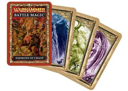 Warhammer Battle Magic Cards: Daemons of Chaos