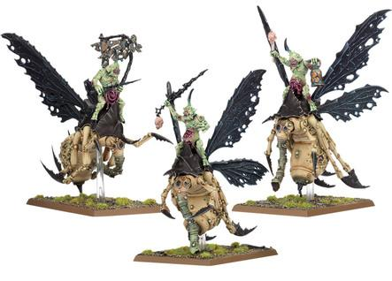Age of Sigmar: Plague Drones of Nurgle