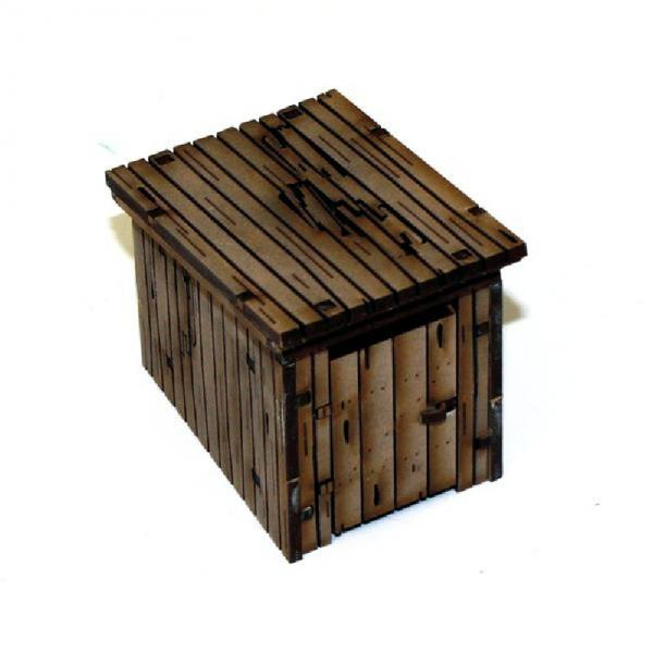 28mm Terrain & Obstacles: Wooden Out House