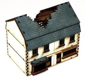 15mm European Buildings: Damaged Shop
