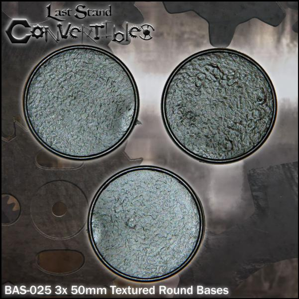 LSC Bases: 50mm Round Bases (3)