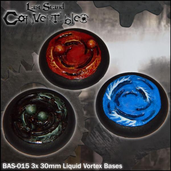LSC Bases: 30mm Liquid Vortex Bases (3)