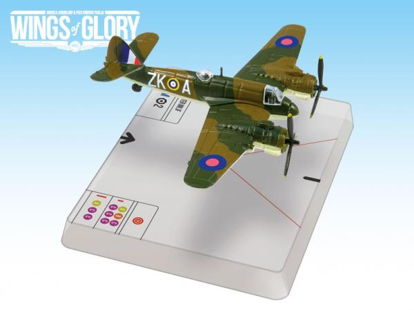 Wings Of Glory WWII Series III Miniatures: Bristol Beaufighter Mk.IF (Herrick)