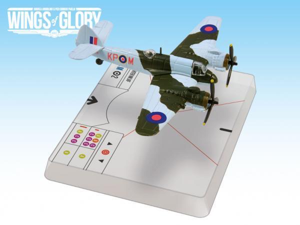 Wings Of Glory WWII Series III Miniatures: Bristol Beaufighter Mk.VIF (Dav oud)