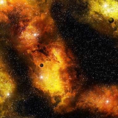 Firey Nebula Game Mat (36''x36'')