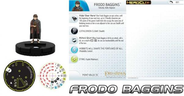 The Lord of the Rings HeroClix: Fellowship of the Ring Single Blind Figure (1)