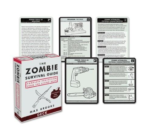 The Zombie Survival Guide: Guide Deck