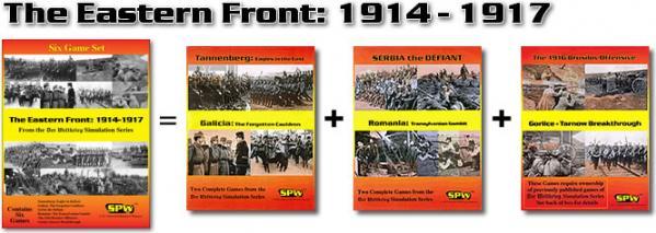 Der Weltkrieg: The Eastern Front 1914-1917