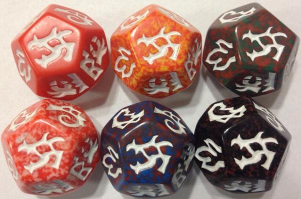 Dragon Dice: Dragons! Red Drake Set