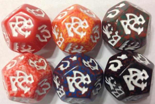 Dragon Dice: Dragons! Red Wyrm Set