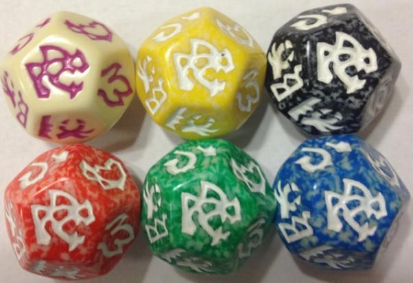 Dragon Dice: Dragons! Ivory Wyrm Set