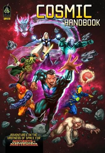 Mutants & Masterminds, 3rd Edition RPG: Cosmic Handbook