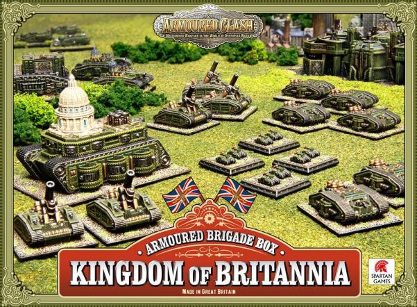 (Kingdom Of Britannia) Armoured Brigade Box
