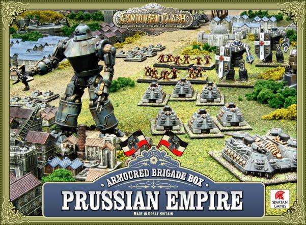 (Prussian Empire) Armoured Brigade Box