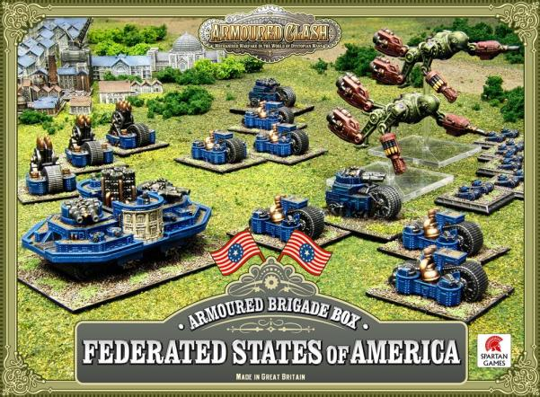 (Federated States Of America) Armoured Brigade Box