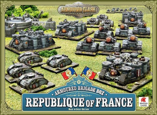 (Republique Of France) Armoured Brigade Box
