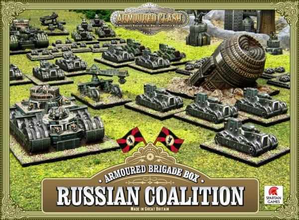 (Russian Coalition) Armoured Brigade Box