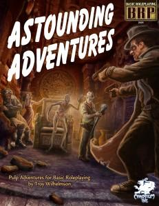 Basic Roleplaying RPG: Astounding Adventures