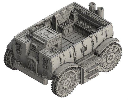 (Empire Of The Blazing Sun) Kote Armoured Carrier
