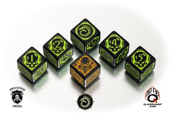 Q-Workshop: Warmachine Cryx Dice