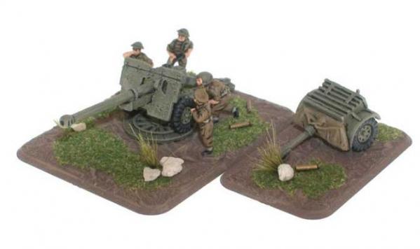 Flames of War: 17/25 pdr gun