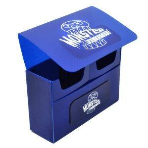 Monster Double Deck Boxes: Self Locking - Matte Blue