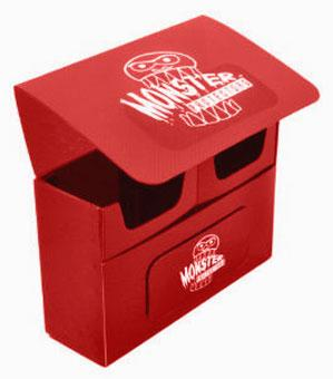 Monster Double Deck Boxes: Self Locking - Matte Red