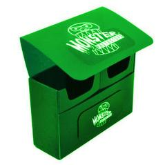 Monster Double Deck Boxes: Self Locking - Matte Green