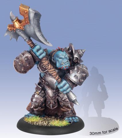 (Trollbloods) Troll Axer Light Warbeast (plastic)