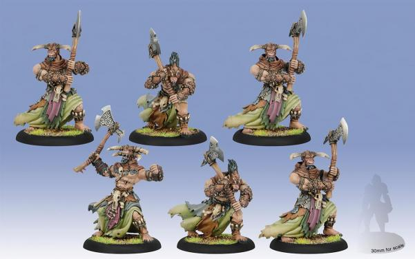 Hordes (Circle Orboros) Tharn Ravagers Unit (6)
