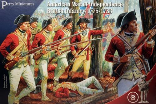 28mm American Revolution: (British) Infantry, 1775-1783