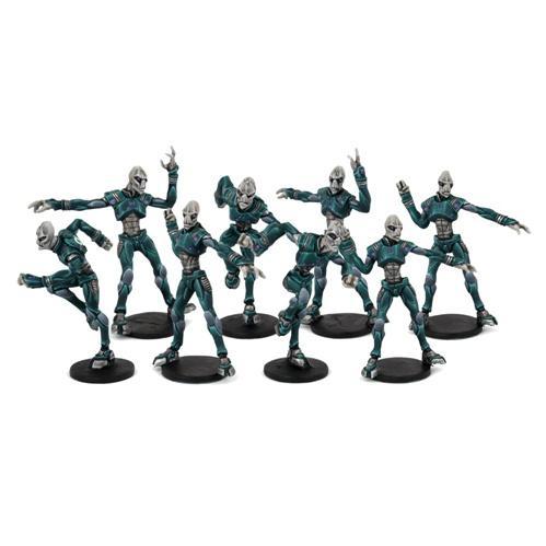 DreadBall - Judwan: Pelgar Mystics Team