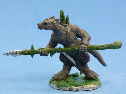 Dark Heaven Bones: Lizardman Spearman