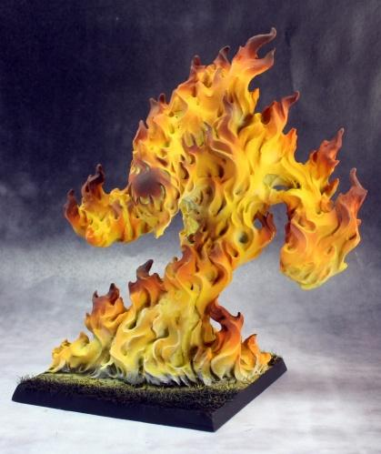 Dark Heaven Bones: Large Fire Elemental