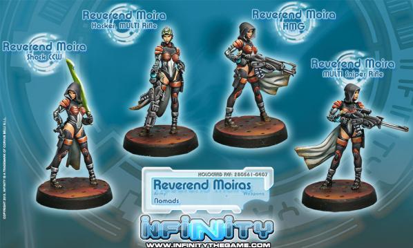 Infinity (#407) Nomads: Reverend Moiras (4)
