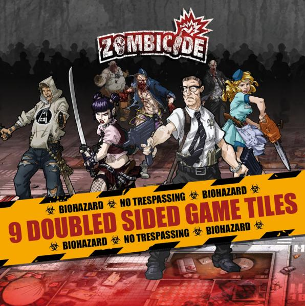Zombicide: Season 1 Tile Pack
