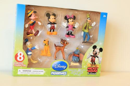 Disney Toys: Disney Mickey Mouse 8 Pack