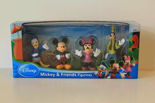 Disney Toys: Disney Mickey Mouse 4 Pack