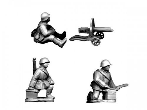 Crusader Miniatures - WWII Russian: Russian HMG - In Winter Kit