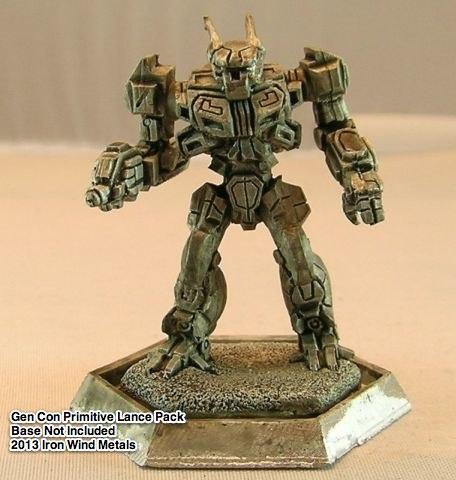 BattleTech Miniatures: Wasp WSP-1 Mech (XTRO Primitives II)