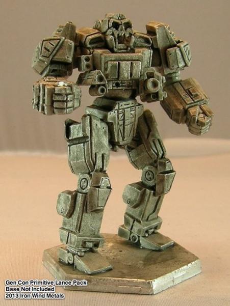 BattleTech Miniatures: BNC-1E Banshee Mech (XTRO Primitives II)