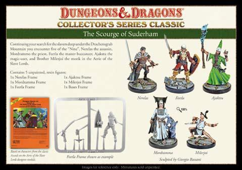Dungeons & Dragons Collector's Series: The Scourge of Suderham