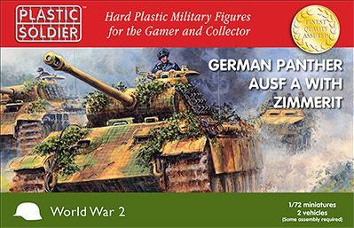 20mm WWII: Panther Ausf A with Zimmerit