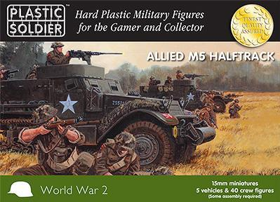 15mm WWII (Russian): Halftrack with British/Commonwealth Crew