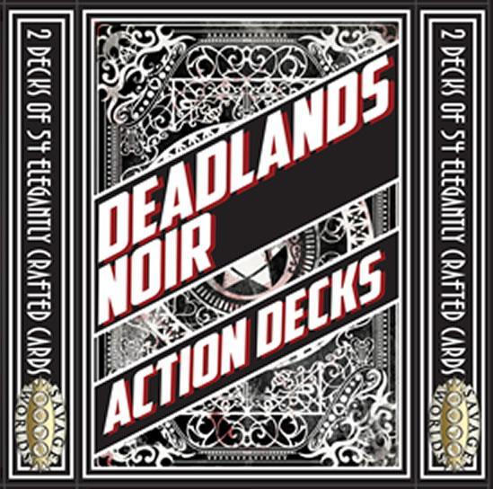 Deadlands Noir: Card Decks (2 x 54-card)